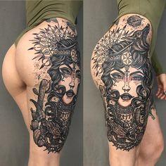 Tatuagem criada por Joseph Haefs de Las Vegas.