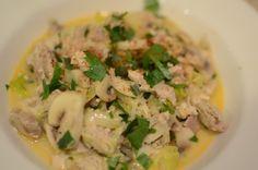 Braised Chicken w/ leeks & peas   Leeks!   Pinterest   Braised Chicken ...