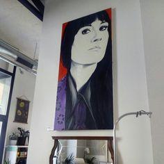 Pieza de la colección homenaje a la música aragonesa de Cristina Loft en Espacio @horst_design (Calle San Jorge 26)