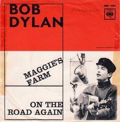 Bob Dylan - Maggie's Farm (Vinyl) at Discogs