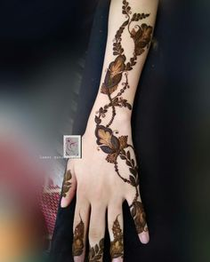 New Henna Designs, Floral Henna Designs, Finger Henna Designs, Arabic Henna Designs, Modern Mehndi Designs, Latest Mehndi Designs, Henna Tattoo Designs, Arabian Mehndi Design, Khafif Mehndi Design