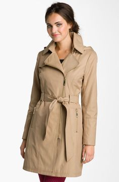 Perfect Trench for Fall-- with a Hood!