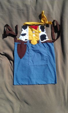 Woody Apron Child by hatzNthangz on Etsy, $24.99 Cute Child apron, Disney Apron for kids,