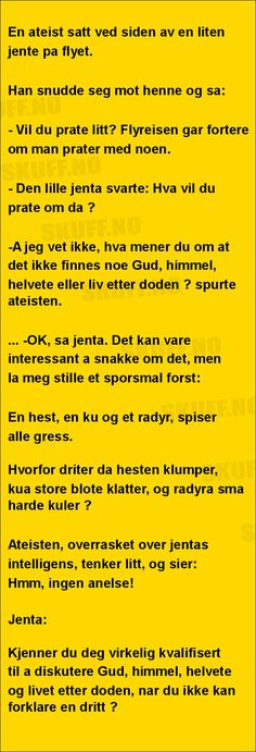 En ateist ... | SKUFF.no - Vitser Og morsomme Bilder Alter, Lions, Haha, Jokes, Wisdom, Humor, Funny, Cheer, Ha Ha