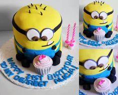Cake Decorating Despicable Me 2 http://www.cakedecoratingmadeeasy.net/
