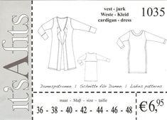 It's Afits 1035 tricot jurk en vest