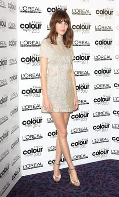 Alexa Chung - L'Oreal Colour Trophy Awards 2013 at Grosvenor House in London, England. (3 June 2013)
