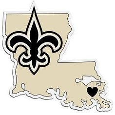 Home State Decal New Orleans Saints - 46826