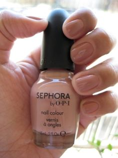 My favorite neutral... OPI Leotard Optional by johanna