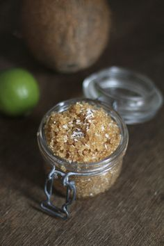DIY Sugar Foot Scrub | we love handmade