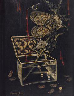 Valentine Hugo (French, 1887-1968), Spirit of the Sunflower, 1934.     from SURREALISM: desire unbound, edited by Jennifer Mundy, Princeton University Press, 2011.