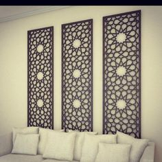 Home Decor DIY, Delightfully exciting ref 7567083556 – Simply lovely house styling tips. Moroccan Decor Living Room, Moroccan Interiors, Living Room Decor, Bedroom Decor, Deco Design, Wall Design, Middle Eastern Decor, Islamic Decor, Moroccan Design