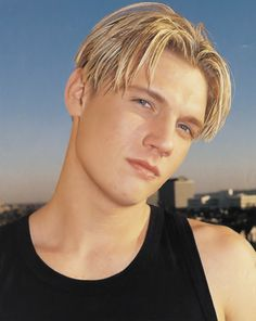 Nick Carter is the number One of The Best Boy Band Hairstyle in 1999