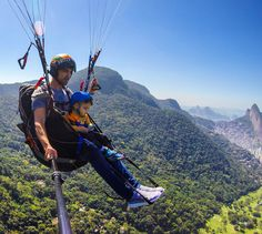 Paragliding baby
