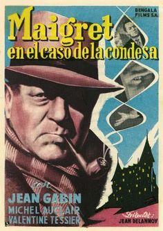 """Maigret en el caso de la condesa (1959) """"Maigret et l'affaire Saint-Fiacre"""" de Jean Delannoy - tt0053033"""