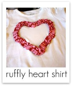 ruffle heart Tutorial