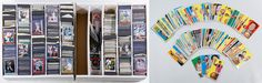 Lot 808: Sports Trading Card Assortment; Including more than 1,500 cards from the 1990s-2000s