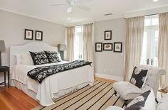 light grey walls in bedroom - Google Search