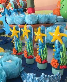 Laura Jimena Cubas Meza's media content and analytics Boy Birthday Parties, Baby Birthday, Baby Hai, Mermaid Theme Birthday, Bubble Guppies Birthday, Shark Party, Boy Decor, Baby Shower, Decoration