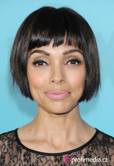 trying to grow out my pixie cut to this. its fun and funky. actress Tamara Taylor