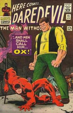 Daredevil #15 - And Men Shall Call Him...Ox!