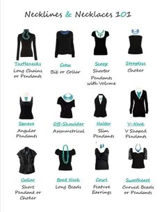 How to accessorize your tops.