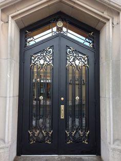 Cedarhurst   Manhattan Iron Door Co. #irondoors #custom # homedesign & Sienna Security Screen Door with Sidelights   Doors u0026 Security ... pezcame.com