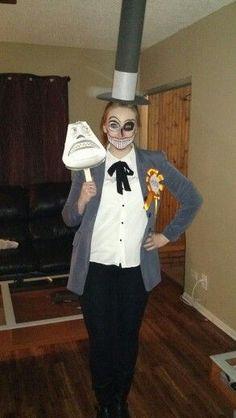 Nightmare Before Christmas Mayor of Halloween town costume.