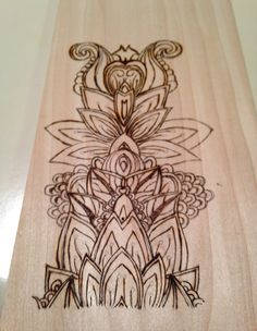 Completed woodburn