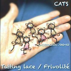 タティングレースの黒ねこ新種^0^;;;:LACEROCKER♡SHO-KOのブログ