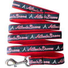 1cef9b2bc Atlanta Braves Leash. Collar And LeashDog CollarsDog SuppliesPet ...