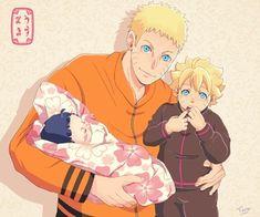 Anime Naruto, Anime Dad, Anime Ninja, Naruto Fan Art, Naruto Comic, Naruto Cute, Naruto Funny, Naruhina, Naruto Himawari