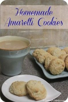 Homemade Amaretti Cookies - so easy to make - you'll never buy stale storebought again! | Cooking In Stilettos
