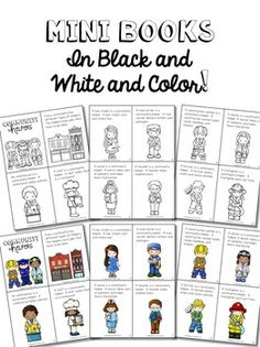 Community Helpers {Close Read, Writing, and Craftivity Unit}