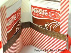 Hot Cocoa holder inside the holder