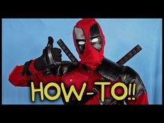 Make Your Own Deadpool Costume! - Homemade How-to! - YouTube
