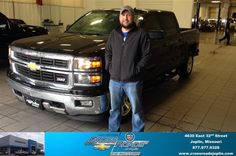 Congratulations to Jeff Rogers on your #Chevrolet #Silverado 1500 purchase from Ryan Duncan at Crossroads Chevrolet Cadillac! #NewCar