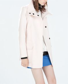 ZARA - WOMAN - STRAIGHT CUT COAT