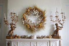 Country Christmas, Christmas Home, Christmas Holidays, Christmas Interiors, Christmas Ideas, Simple Christmas, Merry Christmas, Christmas Mantels, Christmas Wreaths