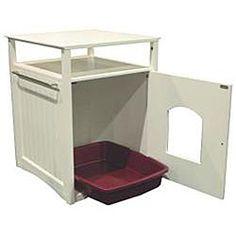 Cat box hideaway from Overstock.com
