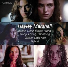 Vampire Diaries The Originals, Hayley The Originals, Vampire Diaries Quotes, Vampire Diaries Cast, Hayley And Klaus, Klaus And Hope, Damon Salvatore, The Orignals, The Mikaelsons