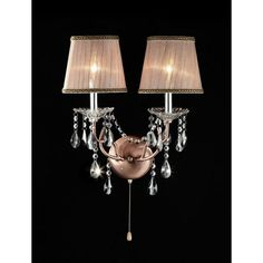 Features:  -Bulb type: 40 W bulb (included).  -Wall sconce.  -Number of lights…