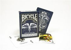 Limited Edition Series features a collective series of Bicycle® cards heritage designs. Each edition is numerically labeled so that you can collect the entire series. The same great Bicycle quality, with a new and unique design.