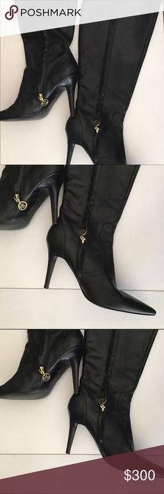 Ralph Lauren Leather Boots Ralph Lauren Leather Boots. Size 10. Ralph Lauren Shoes