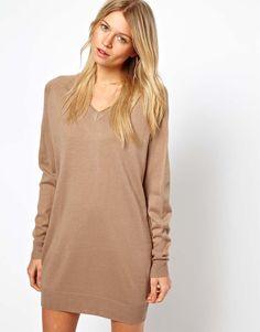 ASOS | ASOS Fine Knit Sweater Dress at ASOS