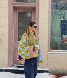 Winter Fits, Winter Looks, Mode Outfits, Fashion Outfits, To Do Planner, Mode Inspiration, Aesthetic Clothes, Foto E Video, Crochet