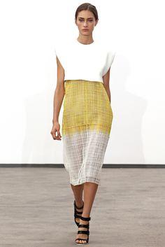 Sfilata Derek Lam New York - Collezioni Primavera Estate 2014 - #Vogue #nyfw #ss2014 #DerekLam