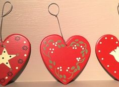 decorated hearts