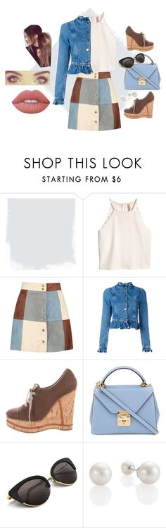 """Fall Look"" by abbwend on Polyvore featuring Boohoo, J.W. Anderson, Mark Cross, Lime Crime, Fall and fashionable"