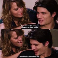 [4.21] one tree hill ------ Sorry I haven't been posting love you xx ps I watched waffle street and it's so good I highly recommend (James lafferty is in it so ) #onetreehill #nathanscott #haleyjamesscott #jameslafferty #joylenz #jamiescott #naley #oth #netflix
